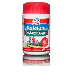 1x1 Vitaday Calcium+Magnézium filmtabletta - 100db
