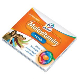 1x1 Vitaday multivitamin + szelén tabletta - 30db