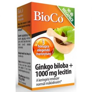 BioCo Ginkgo Biloba + Lecithin kapszula - 90db
