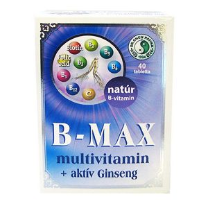 Dr. Chen B-Max multivitamin tabletta - 40db