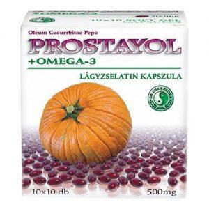 Dr. Chen Prostayol + Omega-3 kapszula - 10x10db
