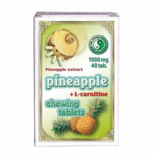 Dr. Chen ananász L-karnitinnel rágótabletta - 40db