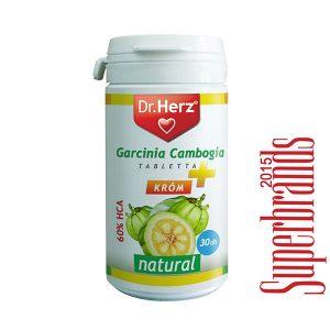 Dr. Herz Garcinia Cambogia + Króm tabletta - 30db