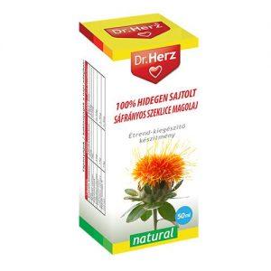 Dr. Herz Hidegen sajtolt Sáfrányos szeklice magolaj - 50ml