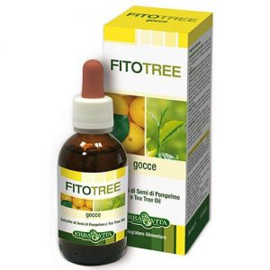 Erba Vita FitoTree grapefruit és teafa alapú baktériumölő olaj - 10ml
