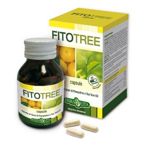 Erba Vita FitoTree - paraziták és gombák elleni kapszula - 60db