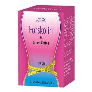 Flavin7 Forskolin + Green Coffee kapszula - 30db