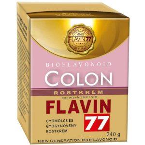 Flavin77 Colon gyümölcs és gyógynövény rostkrém - 240g