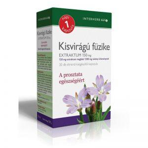 Interherb Kisvirágú Füzike kapszula - 30db
