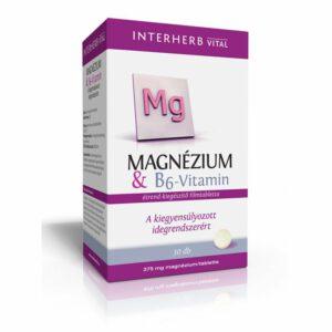 Interherb Magnézium+B6 vitamin kapszula - 30db