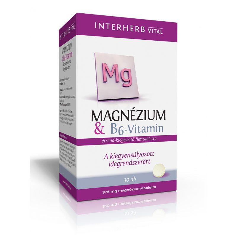 magnézium b6-vitamin és magas vérnyomás)