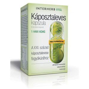 Interherb Vital Káposztaleves kapszula - 60db