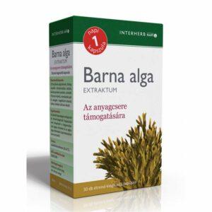 Interherb barna alga extraktum kapszula - 30db