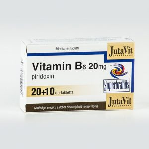 Jutavit B6 vitamin tabletta - 20+10db