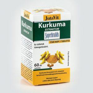 Jutavit Kurkuma extraktum tabletta - 60db