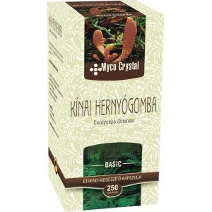 Myco Crystal Kínai hernyógomba - Cordyceps kapszula - 250db