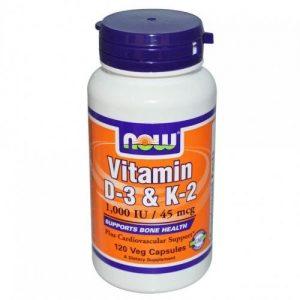 Now D3 és K2 vitamin kapszula - 120db