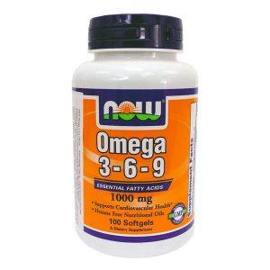 Now Omega 3-6-9 kapszula - 100db