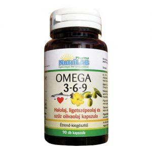 Nutrilab Omega 3-6-9 kapszula – 90db
