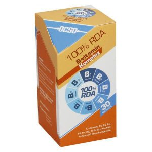OCSO B- vitamin komplex tabletta - 30db