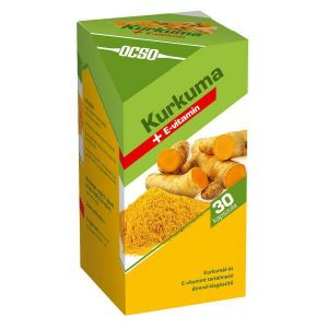 OCSO Kurkuma+E-vitamin kapszula - 30db