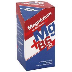 OCSO Magnézium+B6-vitamin kapszula - 30db