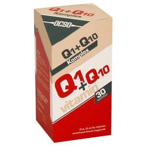 OCSO Q10+Q1 koenzim tabletta - 30db