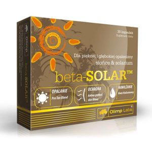 Olimp Labs Beta Solar napozóvitamin kapszula - 30db