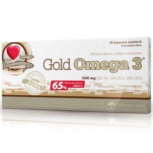 Olimp Labs Gold Omega3 halolaj kapszula - 60db