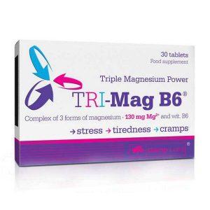 Olimp Labs TRI-Mag + B6-vitamin kapszula - 30db