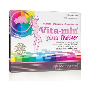 Olimp Labs Vita-min Plus Mother kismama vitamin kapszula - 30db