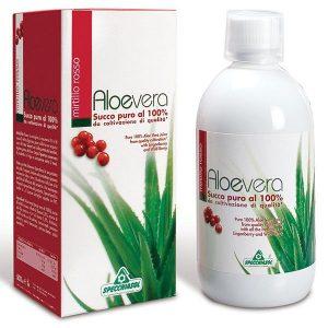 Specchiasol 100%-os Aloe Vera és Vörösáfonya koncentrátum - 1000 ml