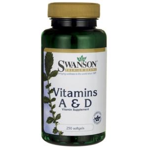 Swanson A-vitamin és D-vitamin kapszula - 250db