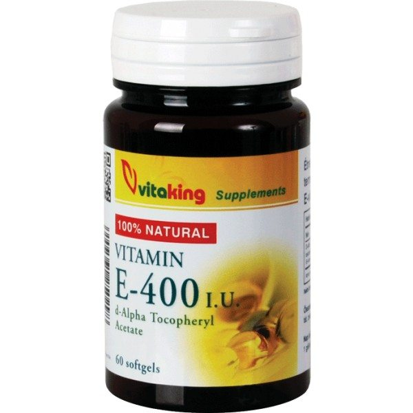 Vitaking E-400 vitamin gélkapszula - 60db