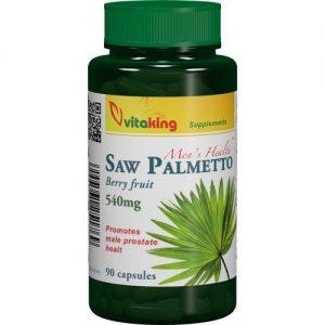 Vitaking Fűrészpálma (Saw Palmetto) tabletta - 90db