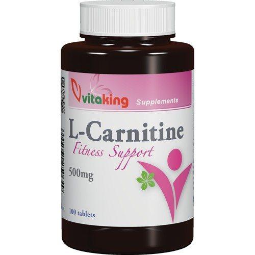 Vitaking L-Carnitine kapszula - 100db