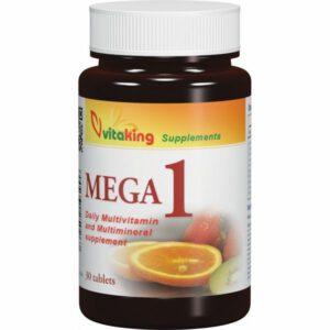 Vitaking Mega-1 multivitamin tabletta - 30db