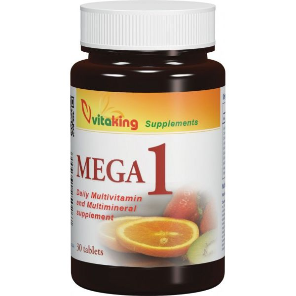 Vitaking Mega-1 multivitamin tabletta - 30db