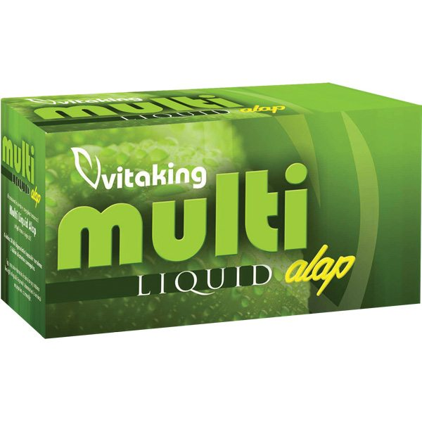 Vitaking Multi Alap Liquid vitamincsomag - 30db