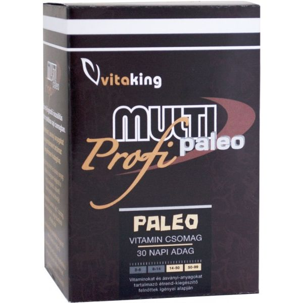 Vitaking Multi Paleo Profi vitamin csomag - 30db