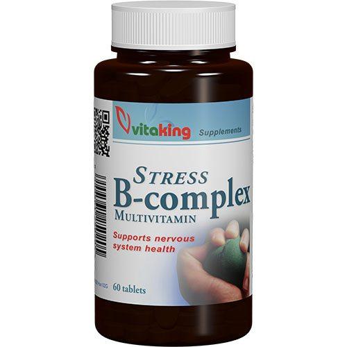 Vitaking Stressz B-komplex vitamin tabletta - 60db