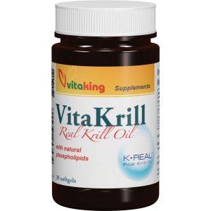 Vitaking VitaKrill rákolaj gélkapszula - 30db