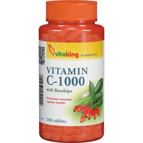 Vitaking Vitamin-C 1000mg tabletta - 100db