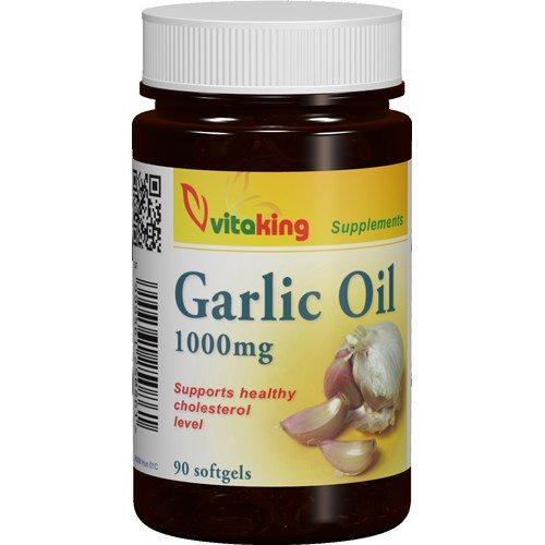 Vitaking fokhagymaolaj kapszula - 90db