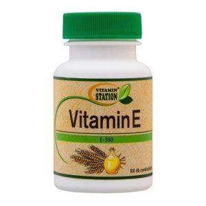 Vitamin Station E-vitamin gélkapszula - 100db