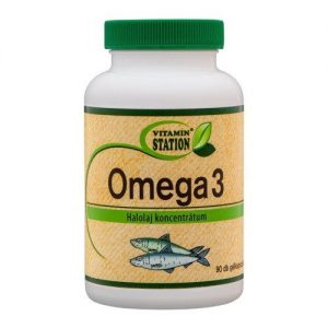 Vitamin Station Omega-3 kapszula - 90db