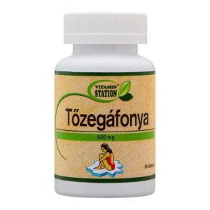 Vitamin Station tőzegáfonya tabletta - 90db
