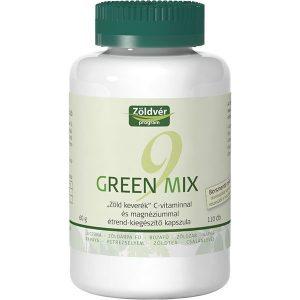 Zöldvér Green Mix 9 kapszula - 110db