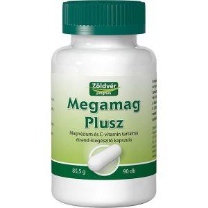 Zöldvér Megamag Plusz kapszula - 90db