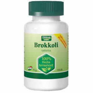 Zöldvér brokkoli tabletta - 150db